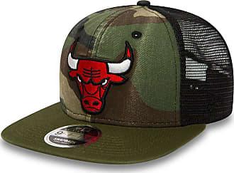 1980efaa640 New Era Kids Snapback Cap - Chicago Bulls washed wood camo - Youth