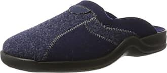 Rohde Mens Vaasa-H Open Back Slippers, Blue Navy 51, 9.5 UK
