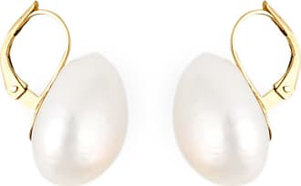 Wouters & Hendrix pearl drop earrings - White