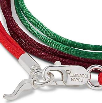 f17ff6a6fd7 Rubinacci Set Of Three Silk Ribbon Bracelets - Multi