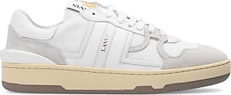 Lanvin Clay Low Sneakers Womens Cream