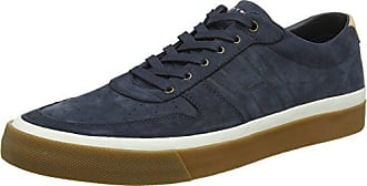 Homme Midnight 42 Hilfiger Nubuck Cut Low EU Sneakers Sneaker 403 Bleu Unlined Tommy Basses 8vqBwTw