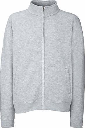 Fruit Of The Loom Mens Premium 70/30 Full Zip Sweatshirt Jacket (XL) (Heather Grey)