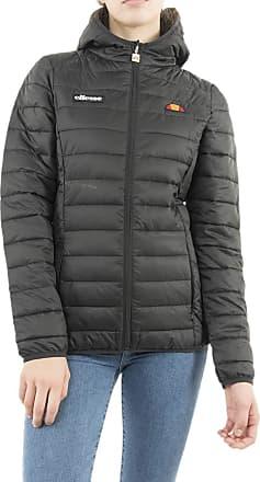 Ellesse Lompard Padded Puffer Ladies Jacket Anthracite Black