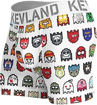 Kevland Underwear cueca boxer kevland pixel ll branco (1, GG)