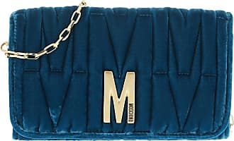 Moschino Cross Body Bags - Wallet Fantasia Blu - blue - Cross Body Bags for ladies
