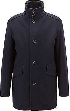 BOSS Manteau Relaxed Fit de style car coat, en laine vierge et  cachemire499.00 5f453ade7a1