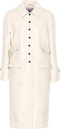 AlexaChung Cappotto Chesterfield in similpelle