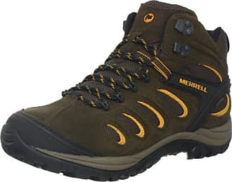 c1d53baa671f5 Merrell Mens Chameleon 5 Mid Ventilator Waterproof Hiking Boot,Black  Slate,11.5 M US