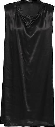 Ann Demeulemeester Ann Demeulemeester Woman Silk-satin Tunic Black Size 38