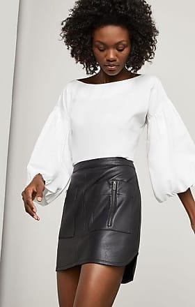 BCBGeneration Sabina Faux-Leather Miniskirt