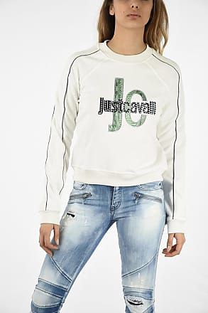 Just Cavalli Studded and Embroidery Sweatshirt size Xs