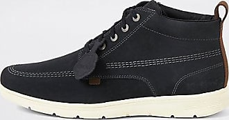 Kickers Mens Kickers Kelland black leather lace-up boots