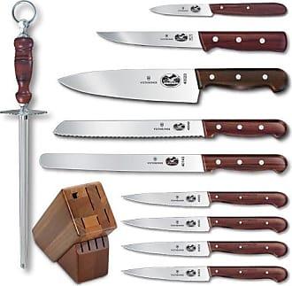 Victorinox by Swiss Army Swiss Army Cutlery Rosewood Knife Block Set, 11-Piece