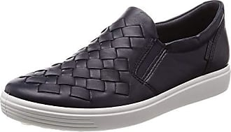fd3c40a41a0a Ecco Womens Womens Soft 7 Slip-on Sneaker Night Sky Woven 37 M EU (