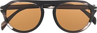 David Beckham Óculos de sol redondo 7009/S - Marrom