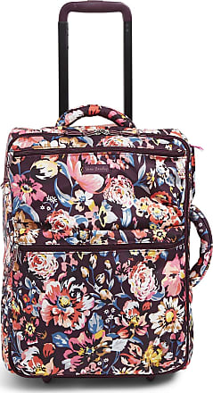 Vera Bradley Womens Roller Lighten Up Small Foldable Rolling Suitcase, Indiana Blossoms, One Size