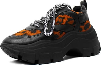 Damannu Shoes Tênis Avril Animal Print Onça - Cor: Preto - Tamanho: 36