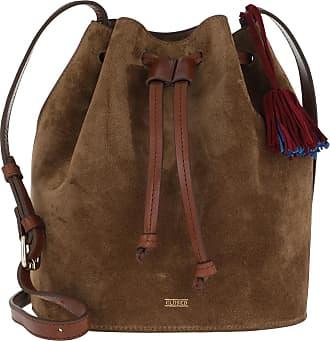 Closed Bucket Bags - Berry Bucket Bag Dark Pecan - brown - Bucket Bags for ladies