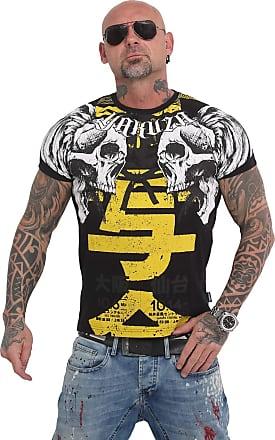 Yakuza Mens Sick Nippon T-Shirt - Black - Medium