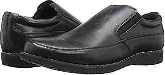 Propét Propet Mens Grant Slip-On Loafer, Black, 11.5 5E US
