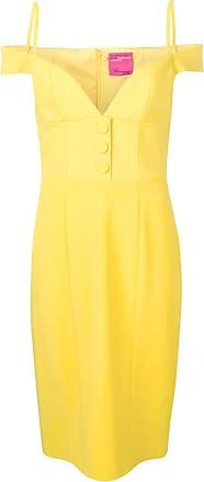 Blumarine Vestido bustier - Amarelo