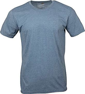 Gold Toe Mens Crew Neck T-Shirt, Heather Indigo, X-Large