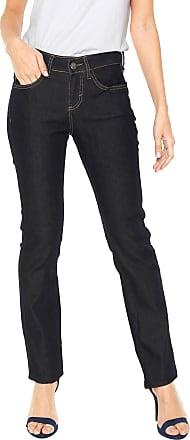 Malwee Calça Jeans Malwee Reta Lisa Azul-marinho