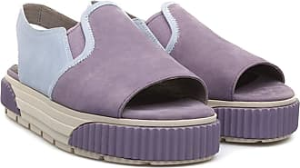 Camper Teen Platform Sandals 22551 (40 EU, Violet and Light Blue)