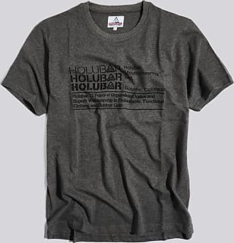 HOLUBAR t-shirt triple logo jj23 grau