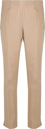 Incotex plain slim-fit trousers - NEUTRALS
