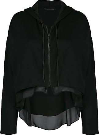 Kiki De Montparnasse Athleisure zip-up hoodie - Black