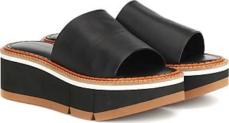 Robert Clergerie Affect platform leather sandals