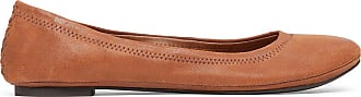 Lucky Brand Womens Emmie Foldable Ballet Flats Bourbon Size 9.5 Fabric From Sole Society