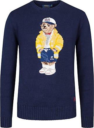Polo Ralph Lauren Pullover mit Bärchen-Stickerei von Polo Ralph Lauren in Marine für Herren