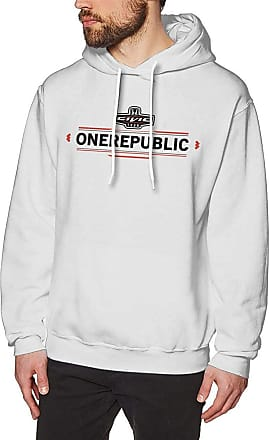 Not Applicable Clothing Mens Novelty Hoodies Activewear Top Hoodies Mens Hoody One Republic Fashion Mens Long Sleeve Sweatshirts Mans Hoodies White