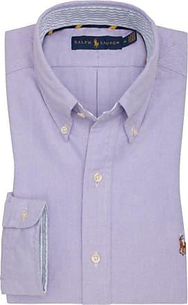 Polo Ralph Lauren Oberhemd, Oxford, Custom Fit von Polo Ralph Lauren in Lila für Herren