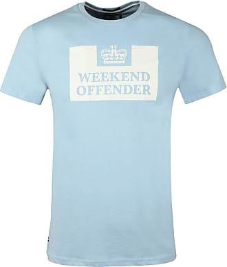 Weekend Offender Prison T-Shirt, Sky, XXL