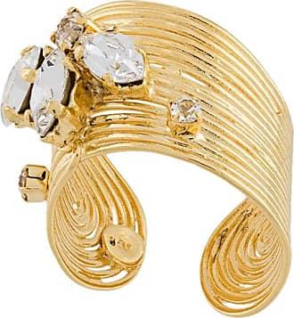 Gas Bijoux Anel Wave - Dourado