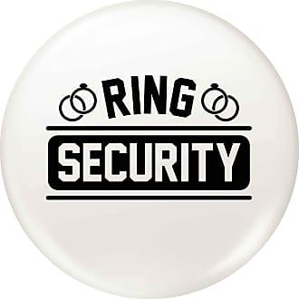 Flox Creative 45mm Pin Badge Ring Security