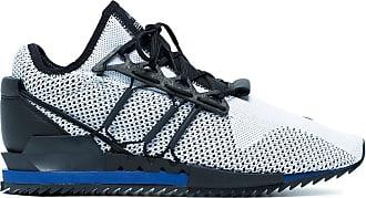 Yohji Yamamoto Black and white Harigane sneakers
