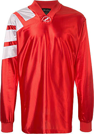 We11done Blusa oversized de jersey - Laranja