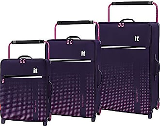 IT Luggage Worlds Lightest Vitalize 2-Wheel, Gothic Grape