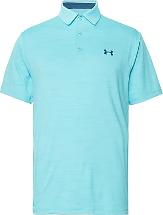 813d541921a10f Under Armour Playoff Heatgear Golf Polo Shirt - Light blue