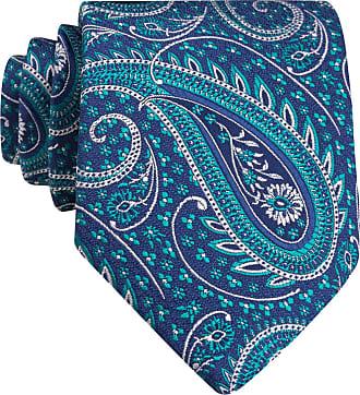 Eton Krawatte - BLAU/ GRÜN