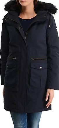 Manteau Beth Boiled Tommy Hilfiger en bleu pour femme