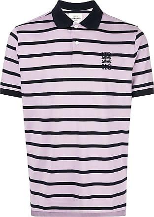 Kent & Curwen striped polo shirt - PURPLE