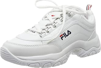 Fila Womens Strada Low Wmn Hi-Top Trainers, White (White 1fg), 6 UK