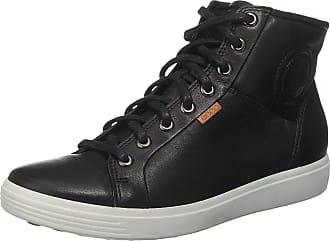 674d9d02a15655 Ecco Sneakers Soft 7 braun   schwarz   weiß