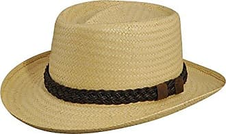 32dd79909ce09 Country Gentleman Mens Joseph Wide Brim Straw Fedora Hat